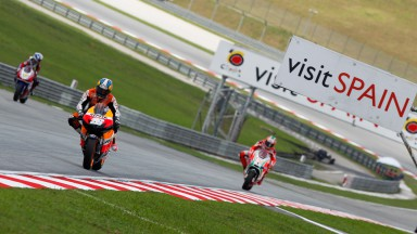 Front row start for Pedrosa, Stoner in fourth
