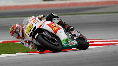 Crash costs Bautista in Sepang qualifying