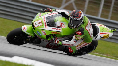 Barberá charges to seventh on the grid in Sepang