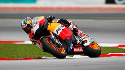 Pedrosa fastest in Sepang morning warm-up