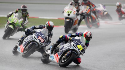 Espargaró takes season-best result in wet Malaysia