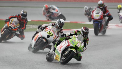 Barberá equals season best in soaking Sepang