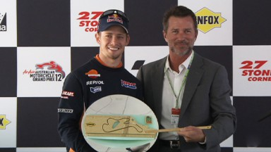 "Casey Stoner honoured at ""Stoner Corner"""
