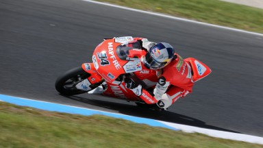 Folger fastest in Australia warm-up