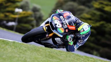 Márquez conquista título de Moto2™ em Phillip Island com vitória de Espargaró