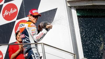 Lorenzo zum Champion gekrönt - Stoner holt 6. Sieg im Australian-GP