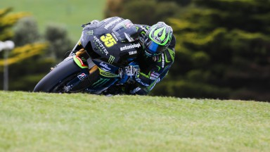 Crutchlow fait sa seconde apparition sur le podium en Australie