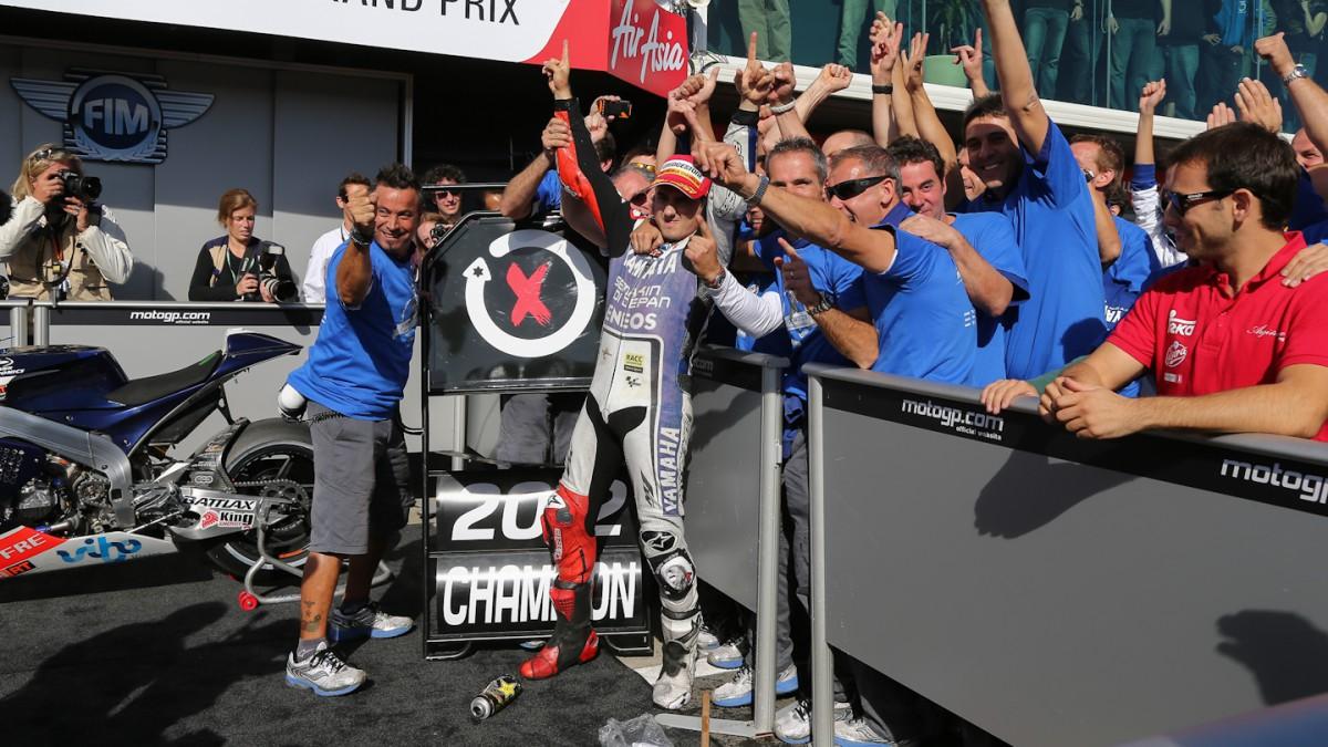 Jorge Lorenzo – 2012 MotoGP™ World Champion   MotoGP™