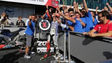 Jorge Lorenzo – Campione del Mondo MotoGP™ 2012