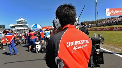 Bridgestone evalúa la carrera de Phillip Island