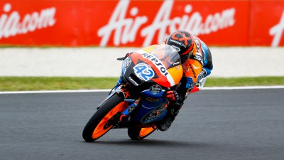 Rins strengthens grip on Rookie honours at Phillip Island