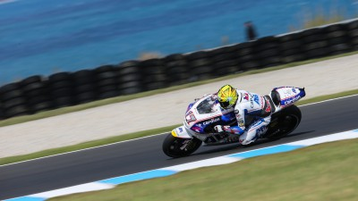 Abraham on factory Ducatis' tail in Australia