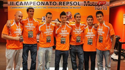 Rubén Llorca se proclama vencedor del II Campeonato Repsol MotoGP.