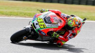 Valencia chiude il capitolo Rossi-Ducati
