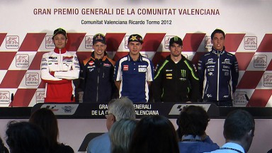 Stoner signs off at MotoGP™ finale in Valencia as fierce battle awaits