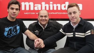 Oliveira and Vázquez announced for Mahindra in 2013
