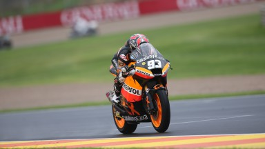 Márquez on record pace, yet penalised in Valencia