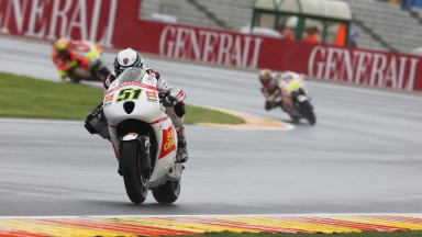 Pirro second on first day in Valencia