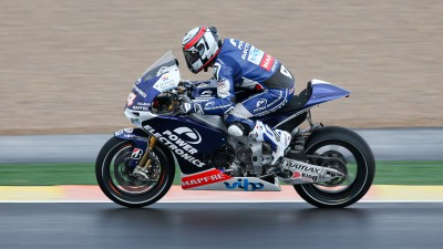 De Puniet makes history as first CRT rider to lead a MotoGP™ practice