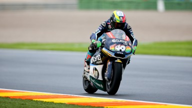 Espargaró leads final free practice in Valencia