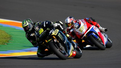 Crutchlow and Dovizioso qualify in top six for season finale