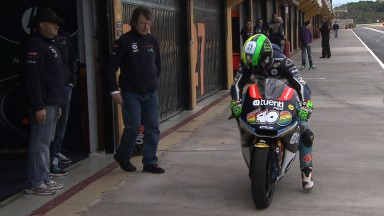 Espargaró tops Moto2 test in Valencia