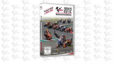 Der offizielle MotoGP™-, Moto2™- und Moto3™-Saisonrückblick 2012 jetzt auf Doppel-DVD!