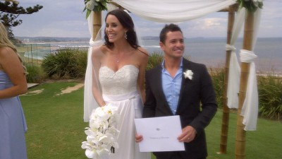 Randy de Puniet et Lauren Vickers se sont mariés
