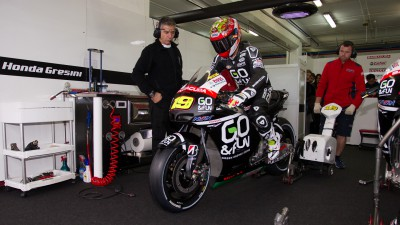 Bautista tops first day of testing in Valencia