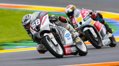 Juanfran Guevara  entra el Campeonato de Moto3 con el CIP Team