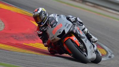 Poca fortuna per Yamaha ad Aragon