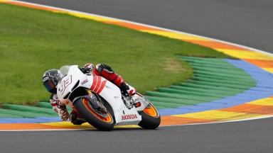 Erfolgreicher Test für Pedrosa und Márquez in Valencia