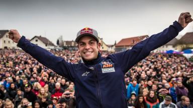 Cortese feiert Moto3-WM-Titel 2012 in Berkheim