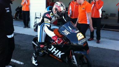 Viñales debuts with JHK Laglisse on board a KTM