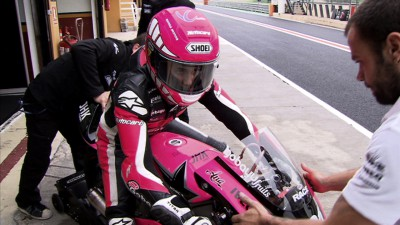Ana Carrasco steps up to become first female in Moto3™