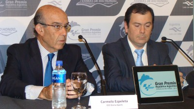 Ezpeleta travels to Argentina to confirm race in 2014