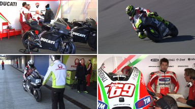 Ducati and Avintia commence private Jerez test