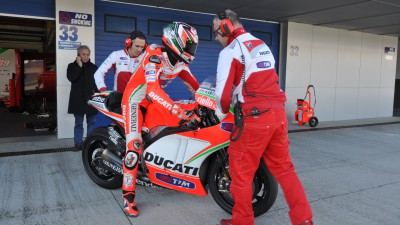 Ducati Team komplettiert letzten Test 2012 in Jerez