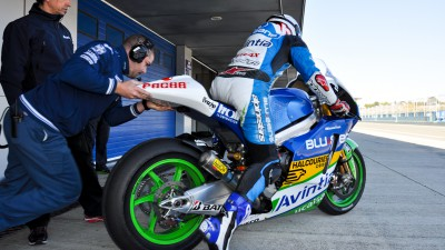 Jornadas muy positivas para Avintia Blusens MotoGP en los test de Jerez