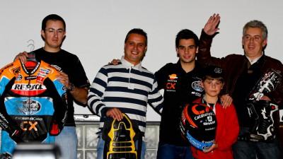 Miguel Oliveira celebrou época de 2012 em jantar com os fâs