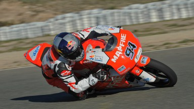 Mapfre Aspar Team Moto3 improving at Almeria test