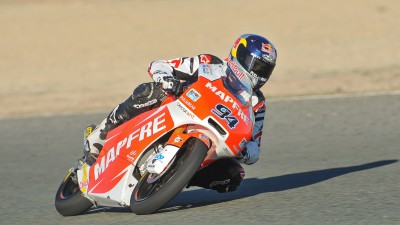 Mapfre Aspar Team Moto3 concludes positive Almeria test