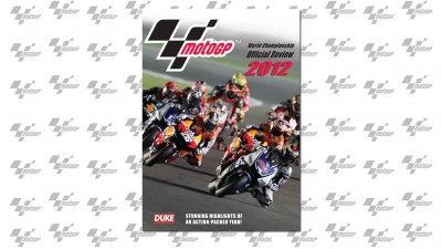 Official MotoGP 2012 DVD is now in stock and available for Christmas