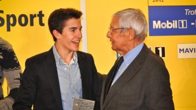 Márquez premiato dal RACC 2012