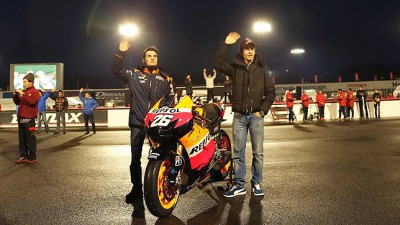 Pedrosa and Márquez to unveil 2013 RC213V livery in Madrid