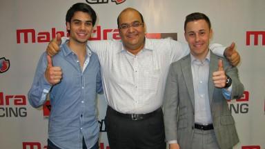 Vázquez y Oliveira toman contacto con el Mahindra Racing en la India