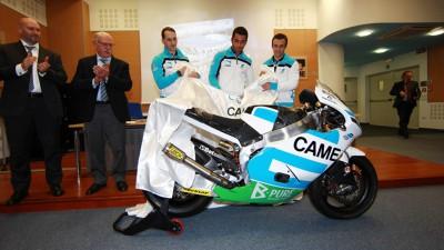 Zarco et Came IodaRacing présentent leur projet Moto2™ 2013