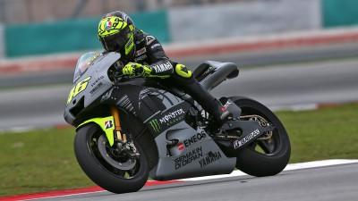 """Rossi retrouve """"sa moto"""""""
