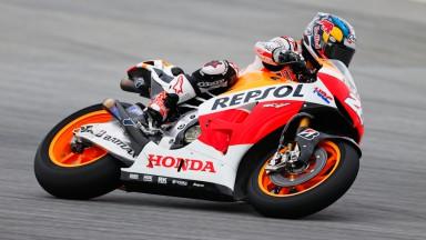 Bon début du team Repsol Honda en Malaisie