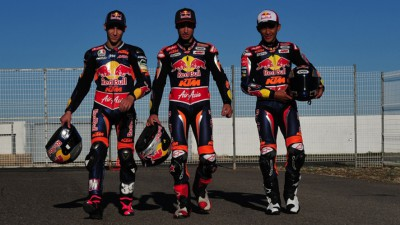 Red Bull KTM Ajo undertake first test of the year in Almeria